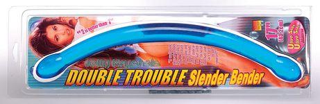 Double Trouble Slender Bender Blue