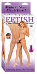 FF VIBRATING STRAP-ON FOR HIM - PURPLE