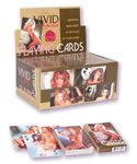 Vivid Girls Playing Cards